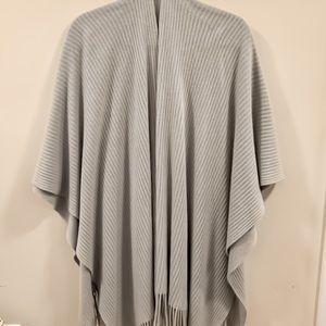 Jackets & Blazers - Grey poncho